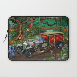 Graveyard Ghost Tours Laptop Sleeve