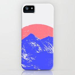 Himalayas iPhone Case