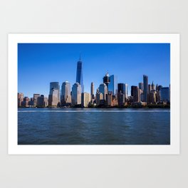 What I can I say about Manhattan Art Print