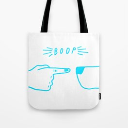 boop the snoot Tote Bag