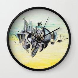 New worlds Wall Clock