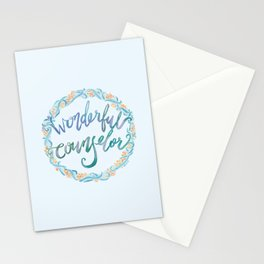 Wonderful Counselor - Isaiah 9:6 Stationery Cards
