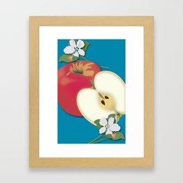 Honeycrisp Apples Framed Art Print