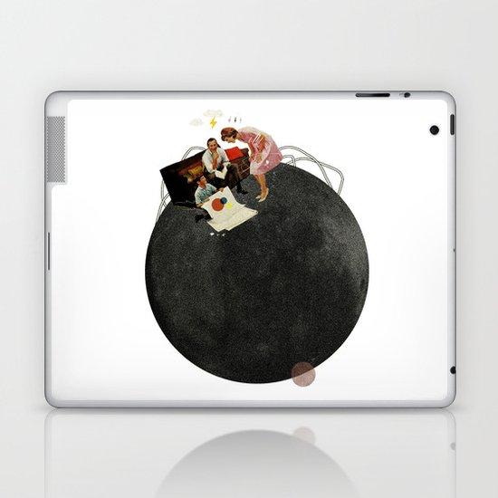 Life on Earth  | Collage | White Laptop & iPad Skin