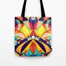 Poetry Geometry Tote Bag