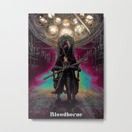 Blood borne Metal Print