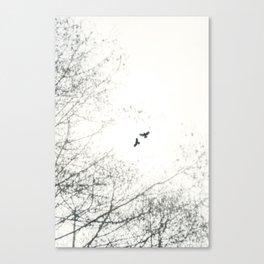 Freebirds ii - Freebirds Series Canvas Print