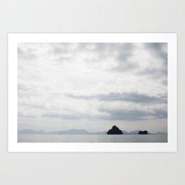 Phang-nga National Park Islands Art Print