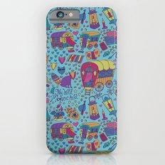 Caravan Pattern Slim Case iPhone 6