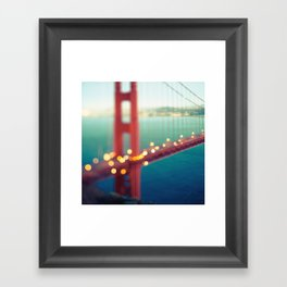 Meet Me In San Francisco Framed Art Print