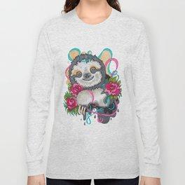 Happy Sloth Long Sleeve T-shirt