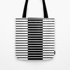 Zebras Play Piano Duet Tote Bag