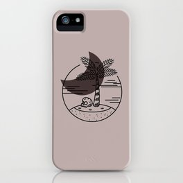 Spring Break Island - Night iPhone Case
