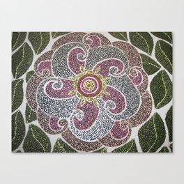 Flower # 1 (Wild Rose) Canvas Print