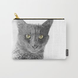 Wolf the Cat 439 2 Carry-All Pouch