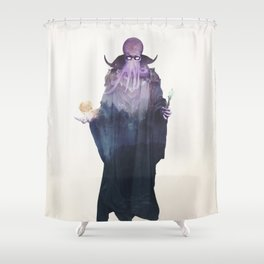 Mind Flayer Shower Curtain