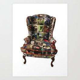 Thrown Throne 1 Art Print