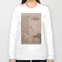 kardashian Long Sleeve T-shirts featuring Khloe Kardashian. by TheArtOfFaithAsylum