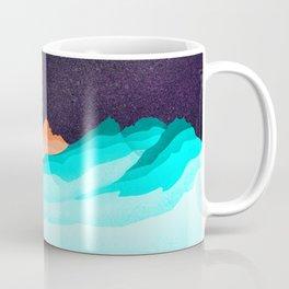 Three Sisters Mountains Coffee Mug