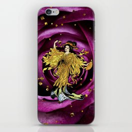 GOLDEN OPERA iPhone Skin