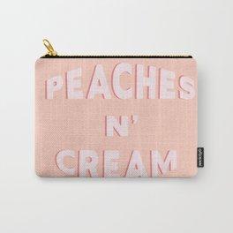 PEACHES N' CREAM Carry-All Pouch