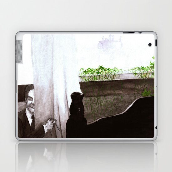 """Give Up"" by Cap Blackard Laptop & iPad Skin"