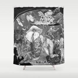 The constellation erotique 3555 Shower Curtain