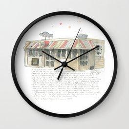 5 Majoribanks Street, Wellington Wall Clock