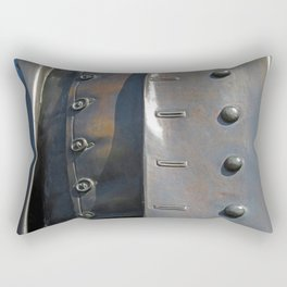 Buttoned, Unbuttoned  Rectangular Pillow