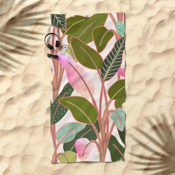 Color Paradise #society6 #decor #buyart Beach Towel