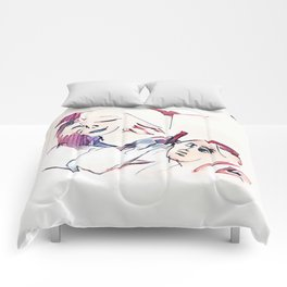 Los Caprichos ~ 35 ~ She Fleeces Him Comforters