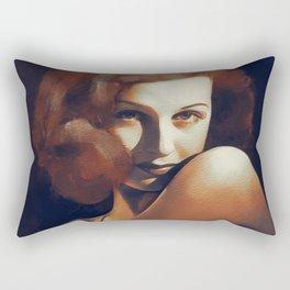 Joan Bennett, Hollywood Legend Rectangular Pillow