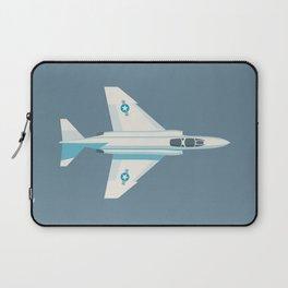 F4 Phantom Jet Fighter Aircraft - Slate Laptop Sleeve