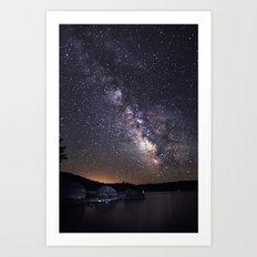 Tupper Lake Milky Way Art Print