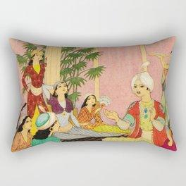 King Agib by Rudolf Koivu Rectangular Pillow