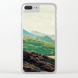 Denali Mountains Clear iPhone Case