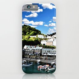 Tide Is Out Water Paint iPhone Case