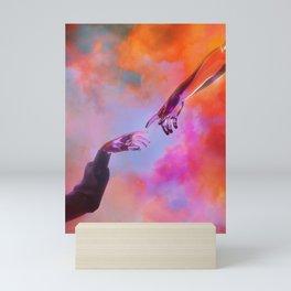 La Création d'Adam - Dorian Legret x AEFORIA Mini Art Print