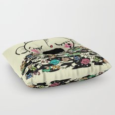 Save the fishes Floor Pillow