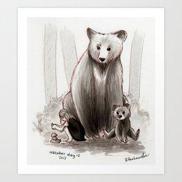 The Bearclan Art Print