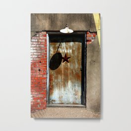 Your Future is Waiting... Just Open the Door. Metal Print
