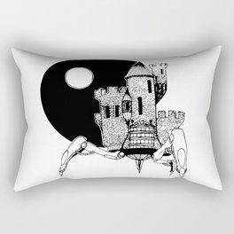 Castle of the Night Rectangular Pillow