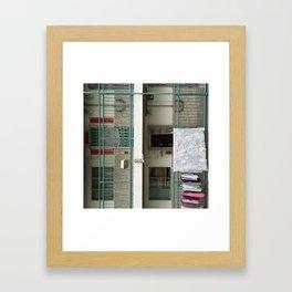 Jalan Hong Kong - Shek Kip Mei III Framed Art Print