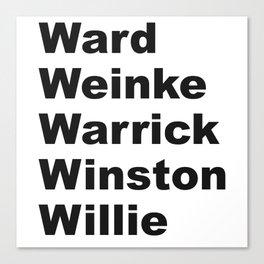 WWWWWinning Canvas Print