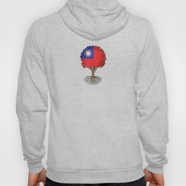 Vintage Tree of Life with Flag of Taiwan Hoody