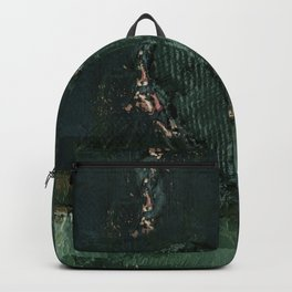 Heart Impressions No. 3l by Kathy Morton Stanion Backpack