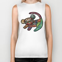 simba Biker Tanks featuring Simba by Ilse S