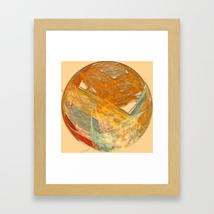 Original Abstract Duvet Covers by Mackin & MORE Framed Art Print