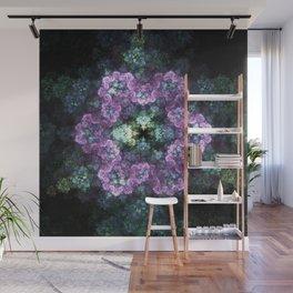 Electric Snowflake Wall Mural
