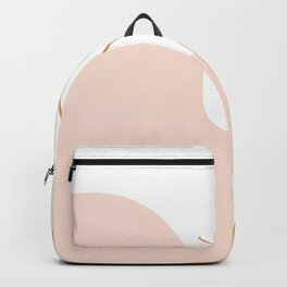 Abstract Sunset Over Pink Mountains Backpack